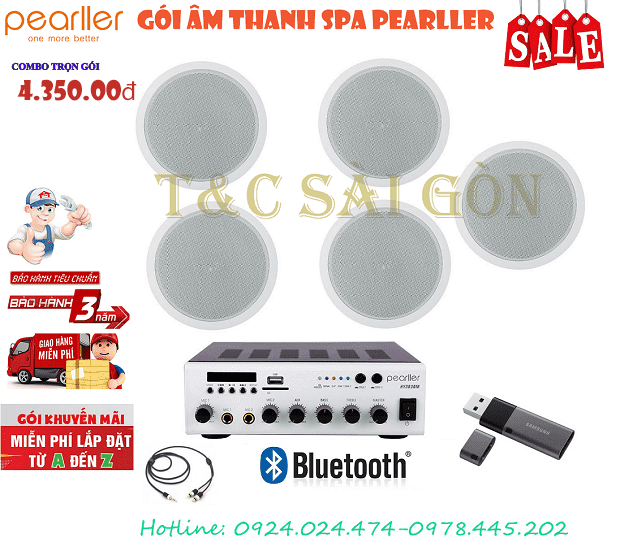 goi combo loa am tran pearller spa gia re
